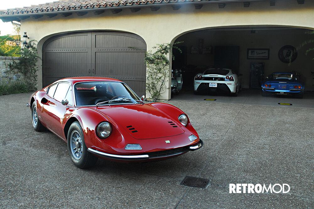 Ferrari Dino 206 Gt Retromod