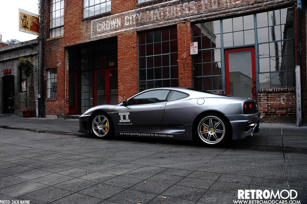 Dark Horse Twin Turbo Ferrari 360 Modena Retromod