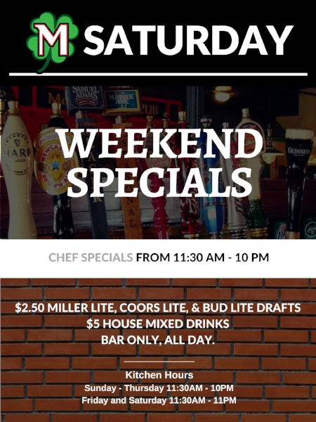 McDonagh's - February 2018 Specials - Saturday.jpg