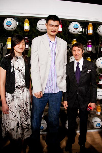 Steve Nash and Yao Ming