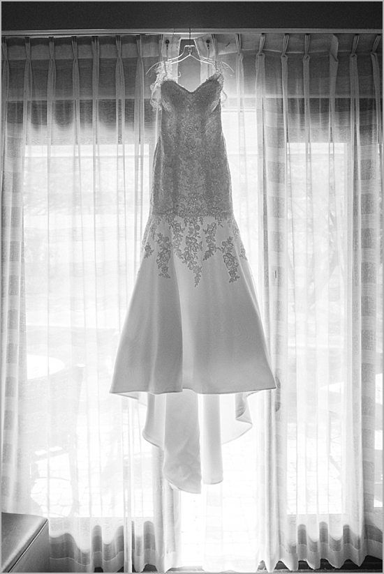 wedding dress at montelucia scottsdale