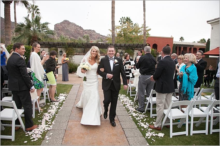 omni montelucia outdoor wedding