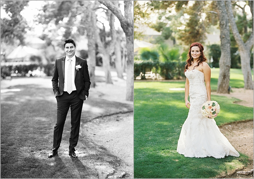 wedding portraits at the arizona biltmore