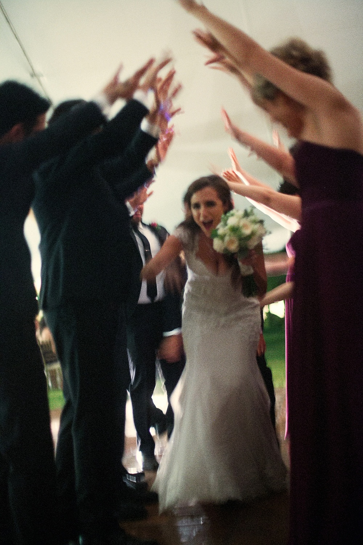 Grand Entrance Wedding