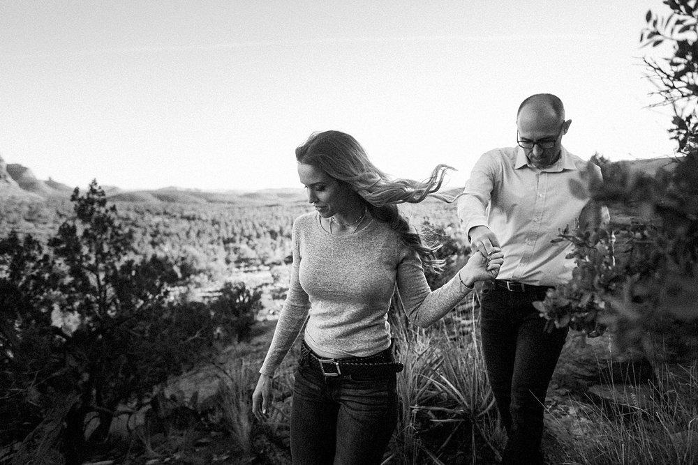 Candid Engagement Photos Sedona