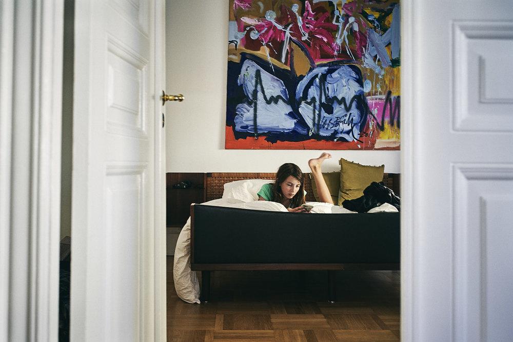 Gabby on bed Copenhagen.jpg