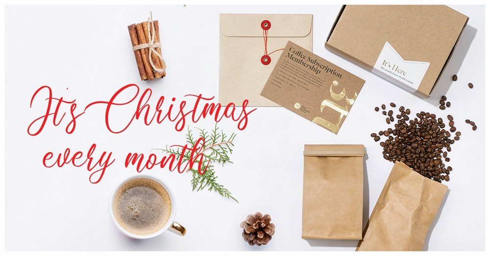 A gift that keeps on giving. - People love our subscriptions because their gift goes beyond Christmas. It reminds them of your love every month!