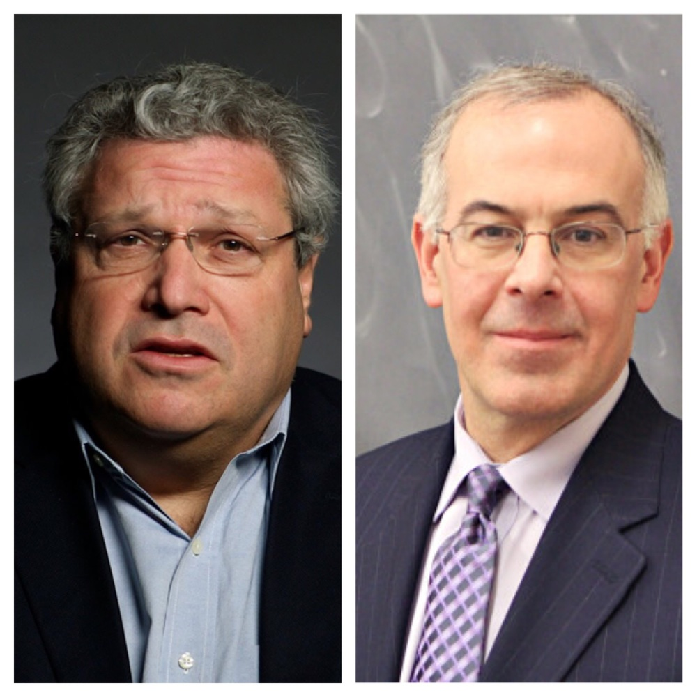Robert Kagan of the Brookings Institutions and The New York Times' David Brooks
