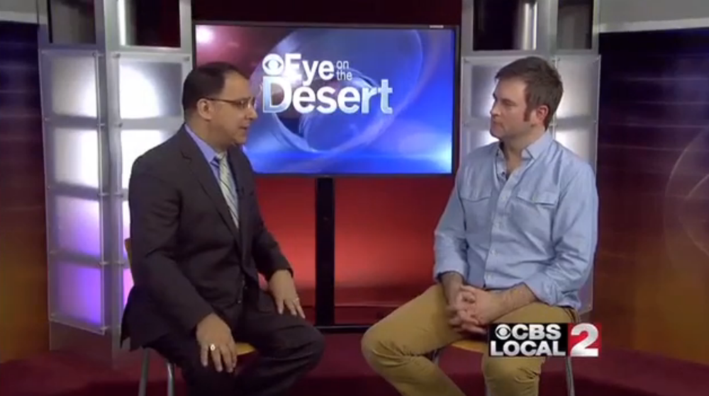 CBS Local 2 - Palm Springs, CA - January 6, 2015