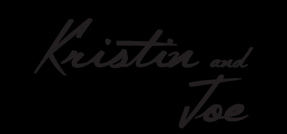 Kristin and Joe - Wedding Logo No6 - BLACK.png