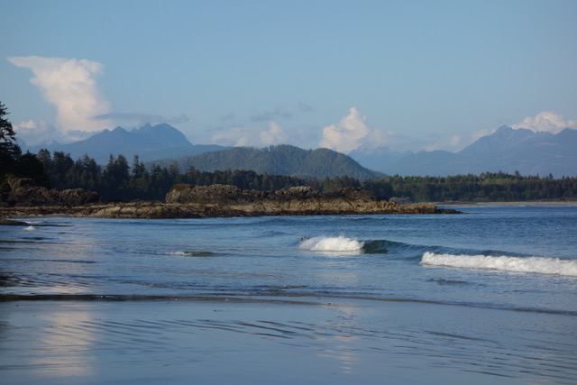 Tla-o-qui-at Tribal Park in Tofino, BC, Canada, homeland of the Nuu-Cha-Nulth Nation