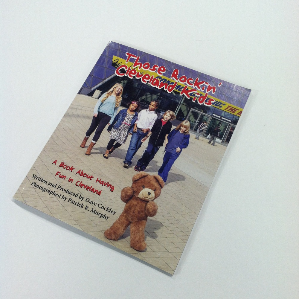"The cover of Dave Cockley's   ""Those Rockin' Cleveland Kids."""