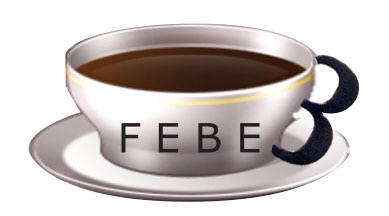 FEBE3's original logo. Look carefully and you'll find the 3 hidden as the cup handle.
