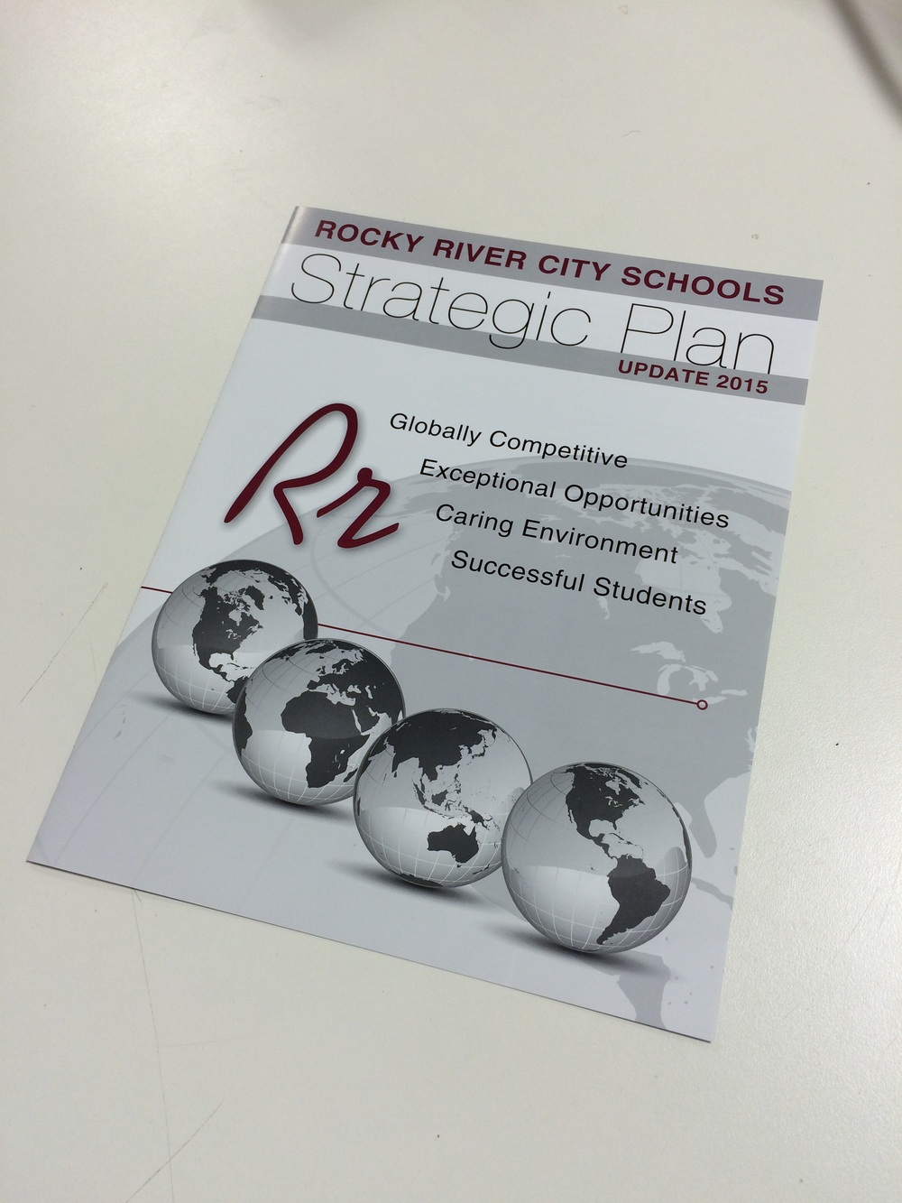 The message was simple: an education founded in Rocky River to help prepare students for the world.