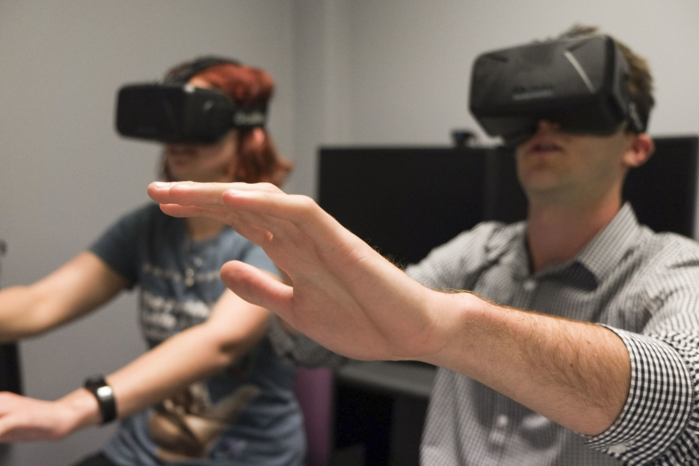 Real enough to touch? Virtual reality headset Oculus Rift creates immersive experiences and is being used for applications outside of gaming.