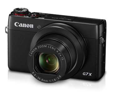 Promo image from Canon's site of their G7X
