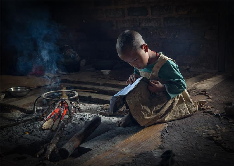 The Young Reader - 61st SIPA PSA Travel Gold Medal - Marco Urso, Italy