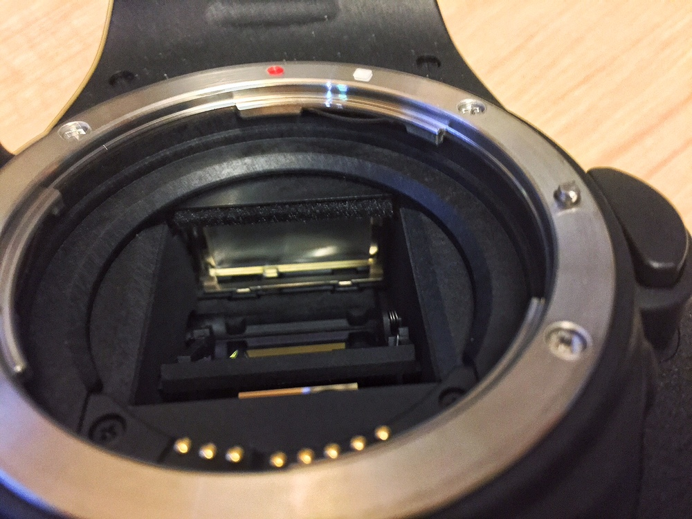 how to clean your dslr mirror focusing screen davidcandlish rh davidcandlish photography Canon 70D Canon 7D