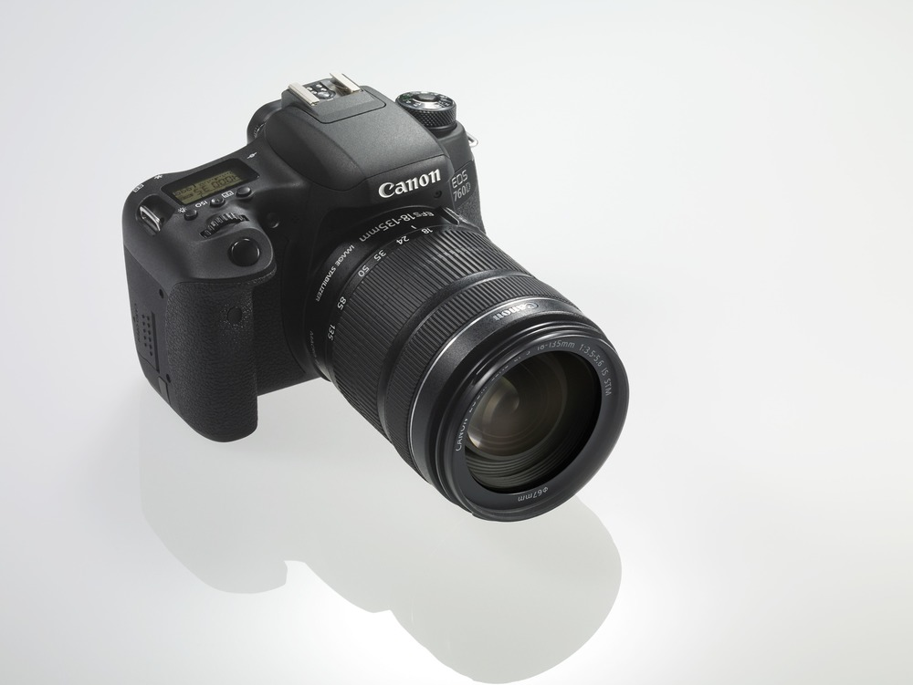 Image courtesy of Canon, shown with the 18-135mm kit-lens.