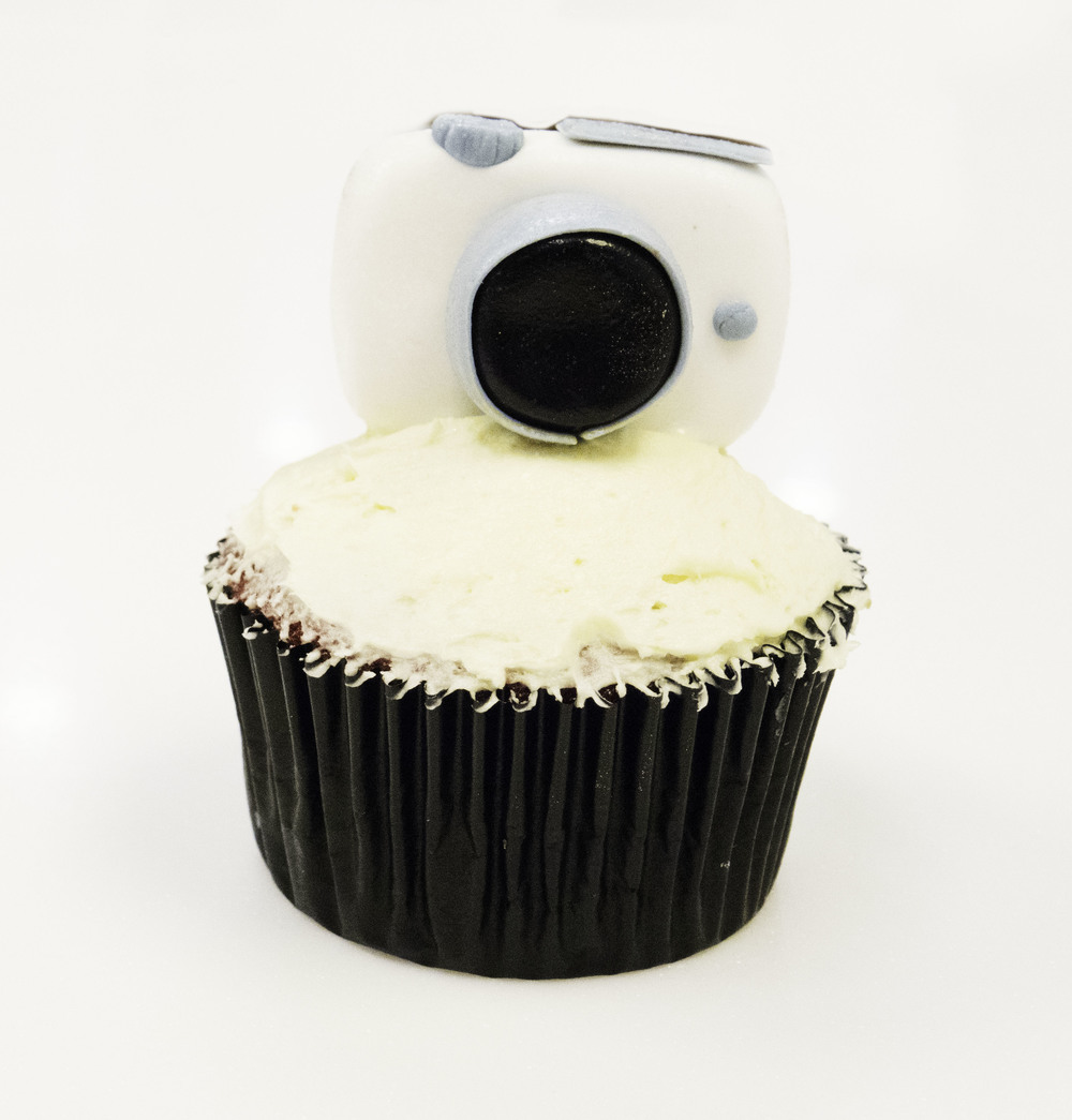 One of the most popular new products... the camera cupcakes were pretty epic :)