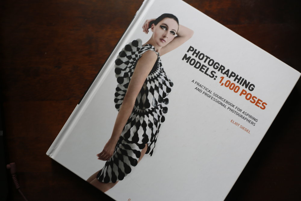 Photographing Models: 1,000 Poses by Eliot Siegel, published by Bloomsbury Press