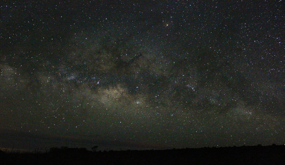 My first ever astro image, the Milky Way taken from Mauna Kea in Hawaii - best place in the world for astronomy!