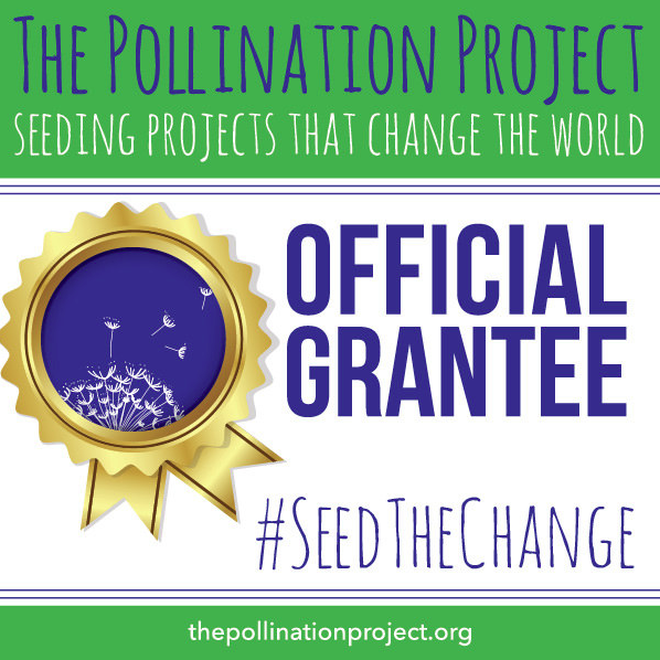 - One Stitch at a Time would like to give a shout out to The Pollination Project! We are so grateful for your contribution and supporting us.