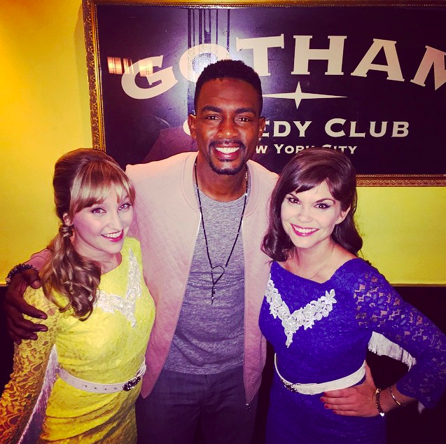 With Bill Bellamy