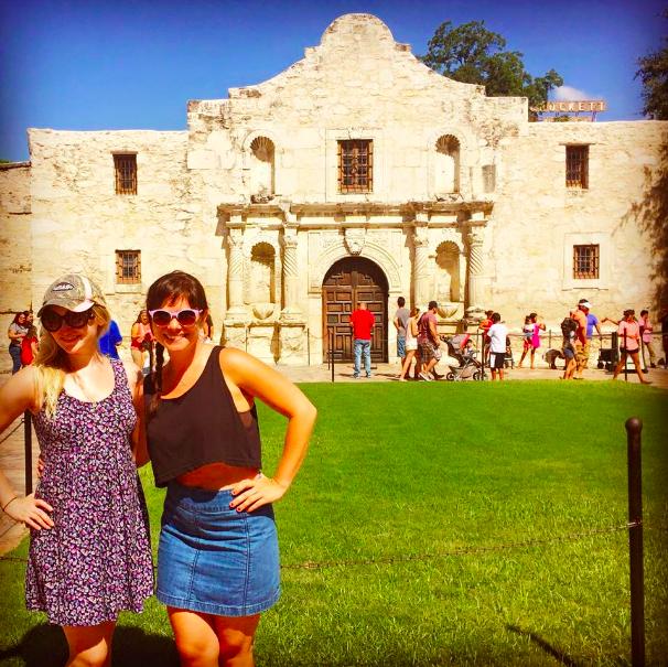 At the Alamo!