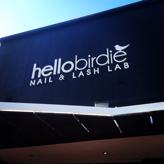 Hello Birdie Sign