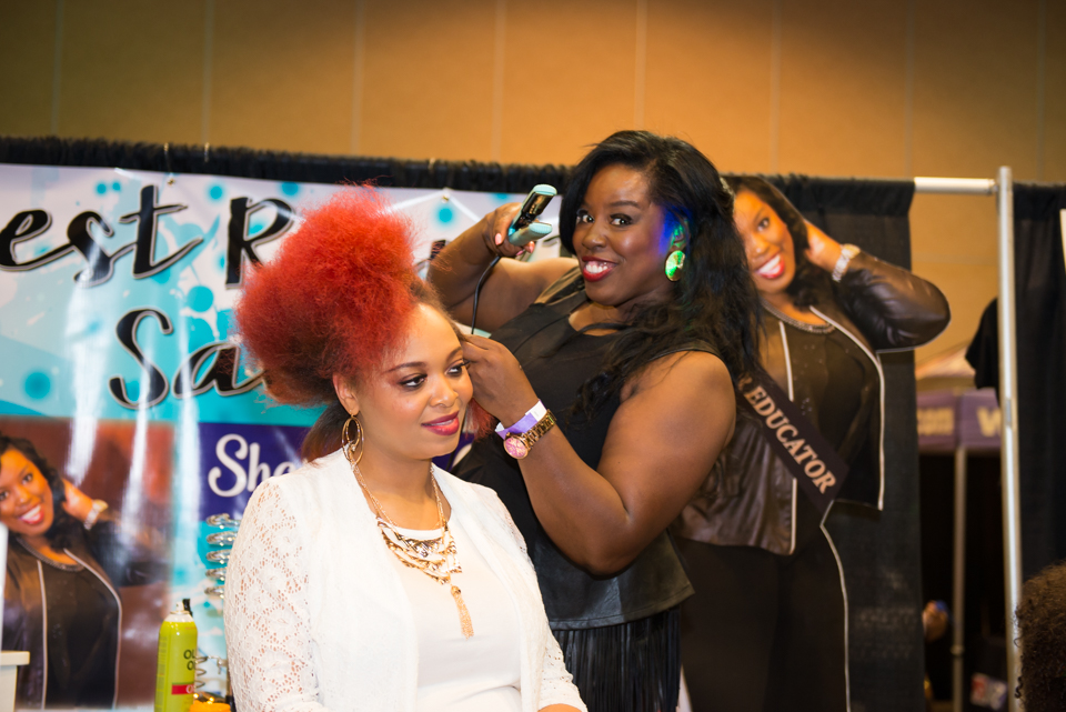 Natural Hair and Health Expo: Birmingham, Alabama. Photo credit: Pixel Outflow Studios
