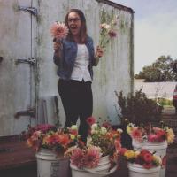 LENNIE LARKIN    Owner of B-Side Farm & Floral Design   Sebastopol, Ca   b-sidefarm.com