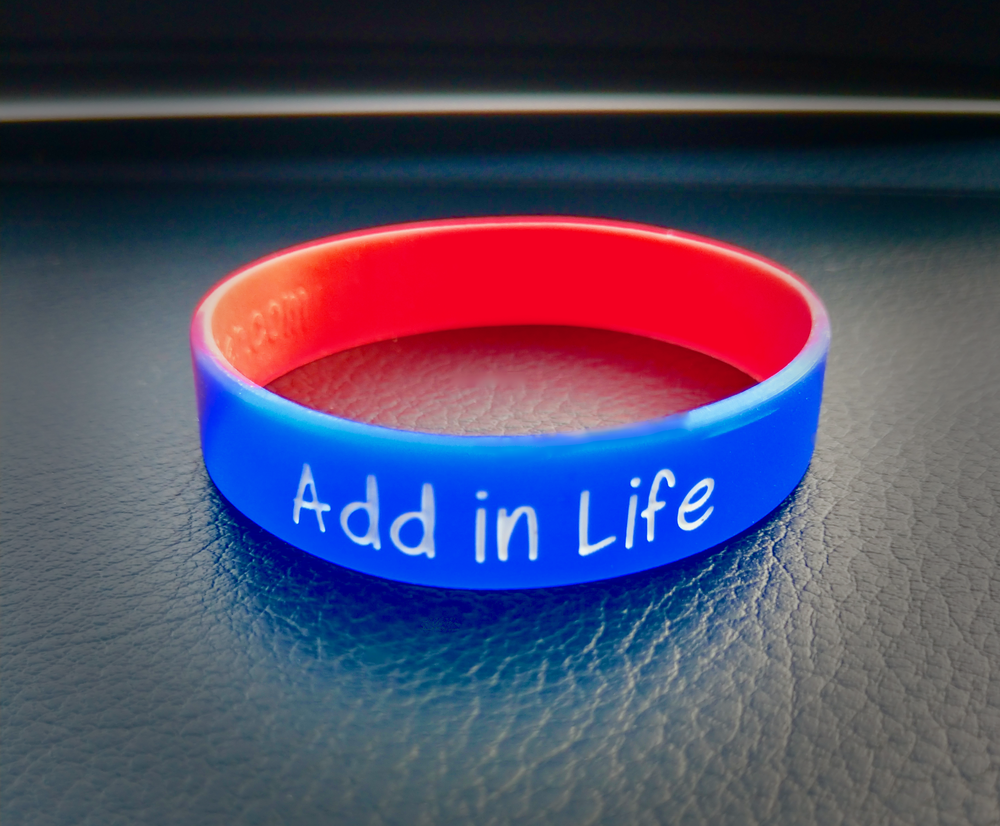 """To order an Add in Life wristband, click the """"PURCHASE WRISTBAND"""" button:"""