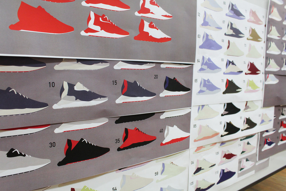 Under Armour starts with doing their core colorways