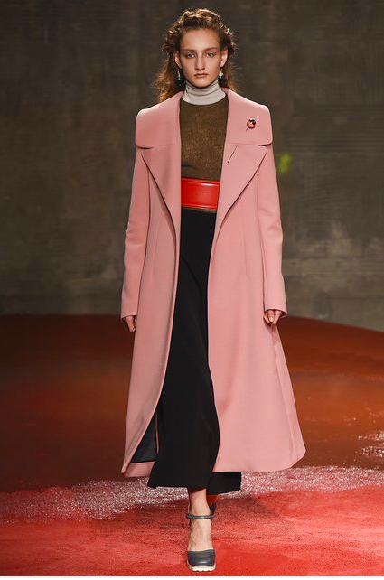 Marni's Burnt Rose Coat