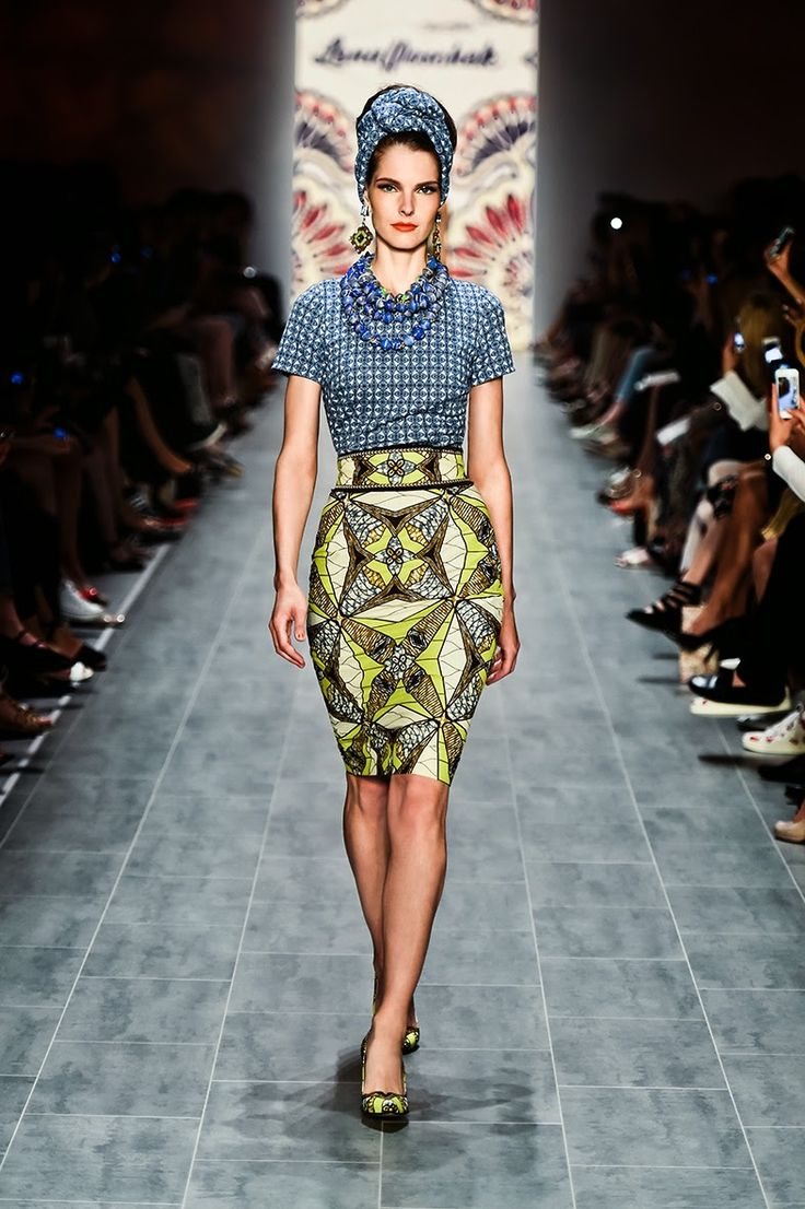 Lena Hoschek, designer. African Prints in Fashion