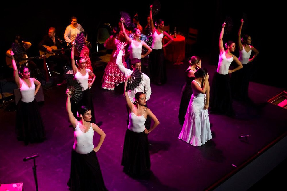 Sevillanas Festival, Lead by the amazing Lina Zapata with the DanceAs Flamenco Group