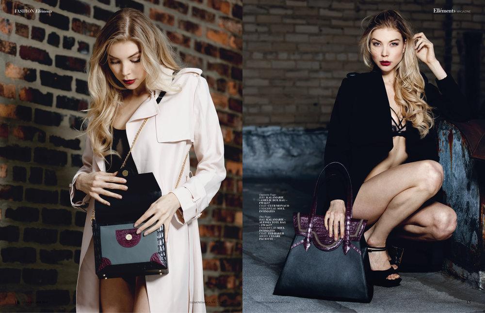 Editorial for D'elegance Magacine. Photograoher:Fabito Gomez, Model: Kate Cast. Makeup: Daniela Rincón.