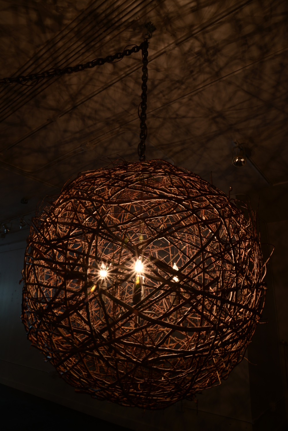 Twig Sphere Chandelier