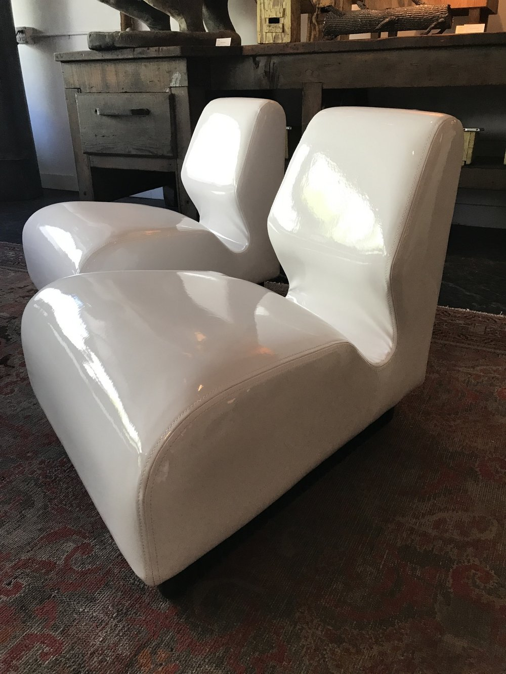 Reupholstered Herman Miller Chairs