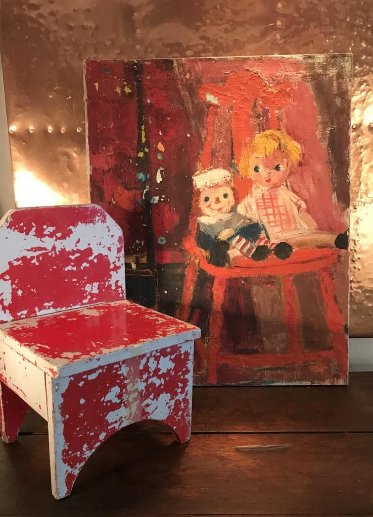 Raggedy Ann Painting