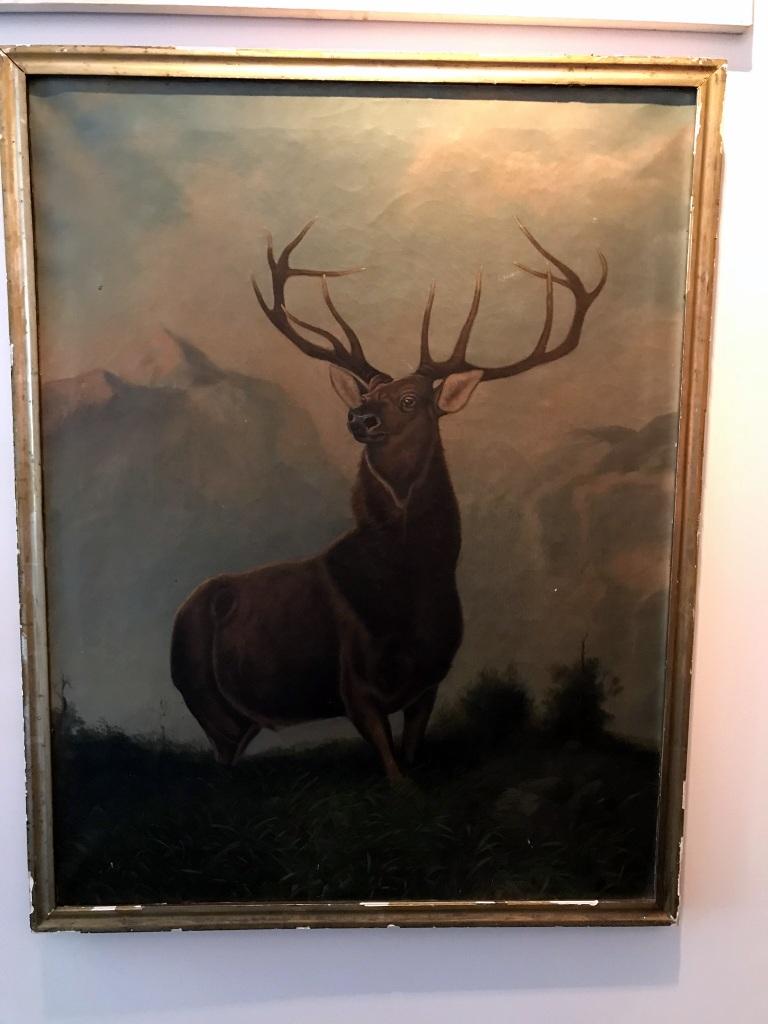 Classic Elk Painting