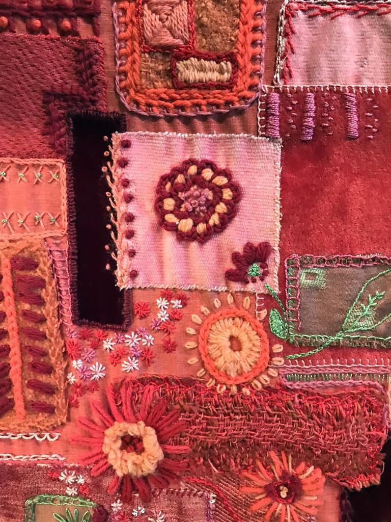 Textile Art Detail
