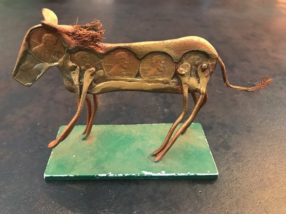 Folk Art Penny Horse