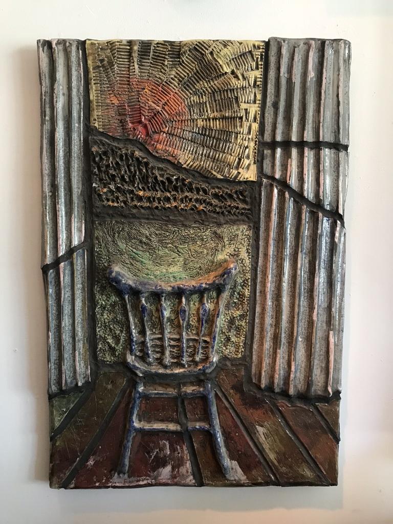 Ceramic Relief Panel