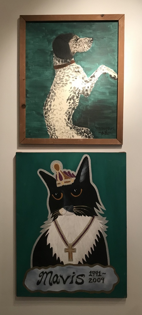 Dog and Cat Paintings