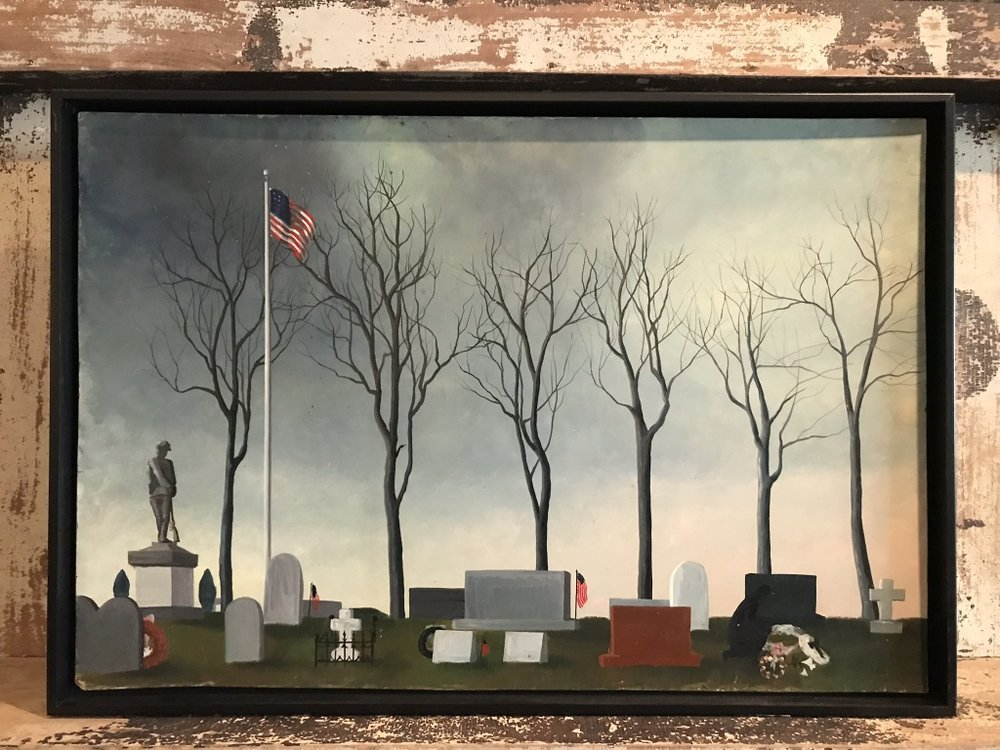 Civil War Monument Painting