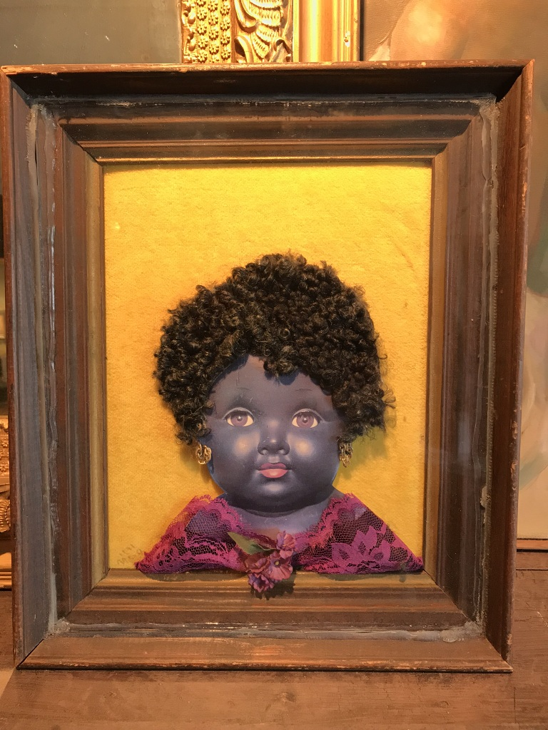 Girl in Shadowbox