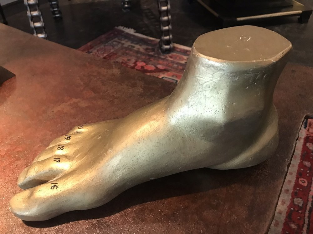 Gold Plaster Foot