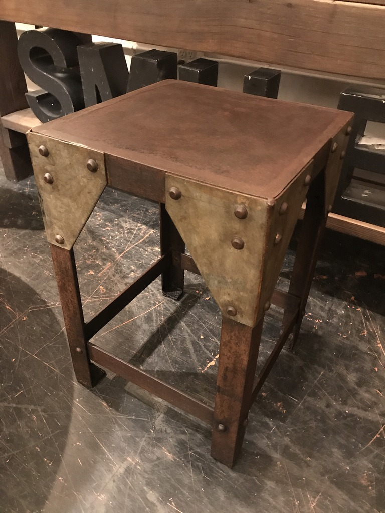 Bridge Truss Side Table